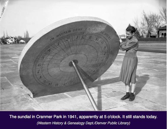 Sundial cir 1940s